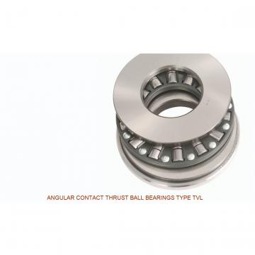 120TVL700 ANGULAR CONTACT THRUST BALL BEARINGS TYPE TVL